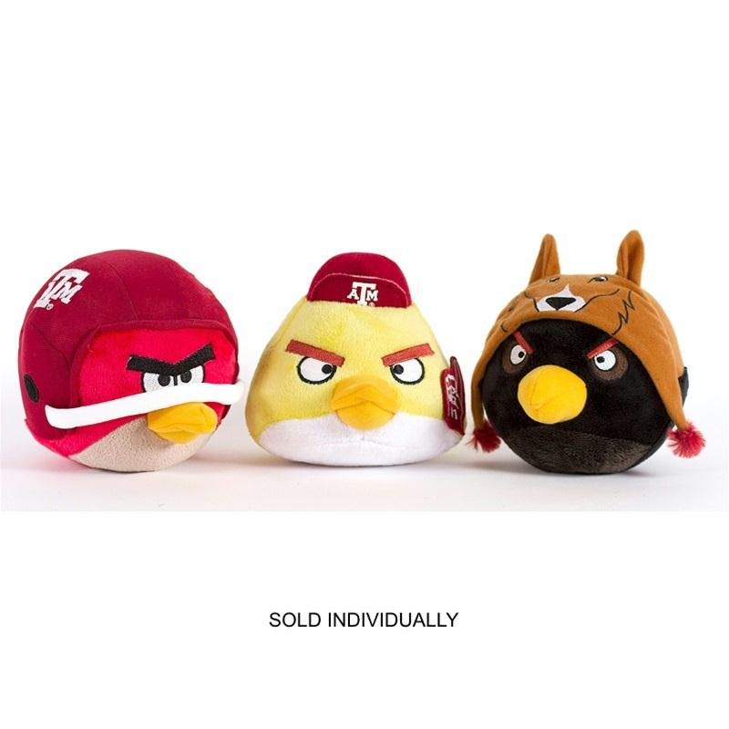 Texas A&M Aggies Angry Birds - Red