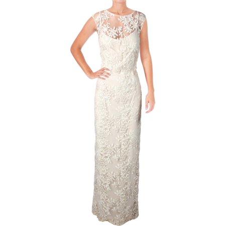Lauren Ralph Lauren Womens Kirette-Sausalito Metallic Embroidered ...