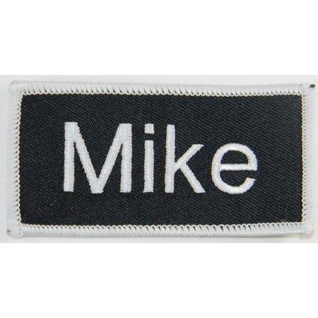 Name Tag Mike 3 3/4