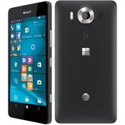 Refurbished  Microsoft Nokia Lumia 950 32GB AT&T Unlocked RM-1105 Window 10, 20MP