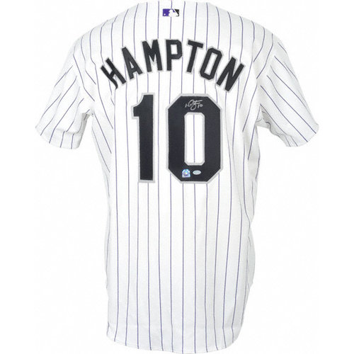 MLB - Mike Hampton Autographed Jersey | Details: Colorado Rockies