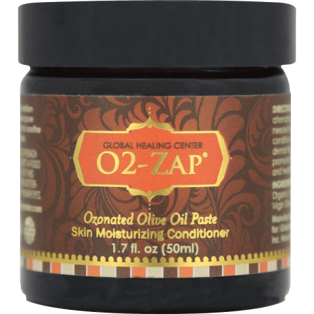 O2-Zap Ozonated Olive Oil Soothing Paste - Certified
