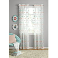 Product Image Your Zone S Pom Bedroom Curtain