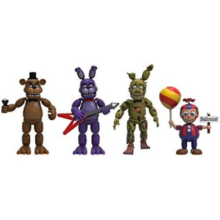 Funko Articulated Action Figure  Five Nights At Freddys   4 Figure Pack  2   Set 2