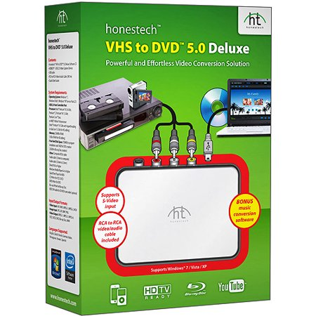 honestech VHS to DVD 5.0 Deluxe for (Pc)