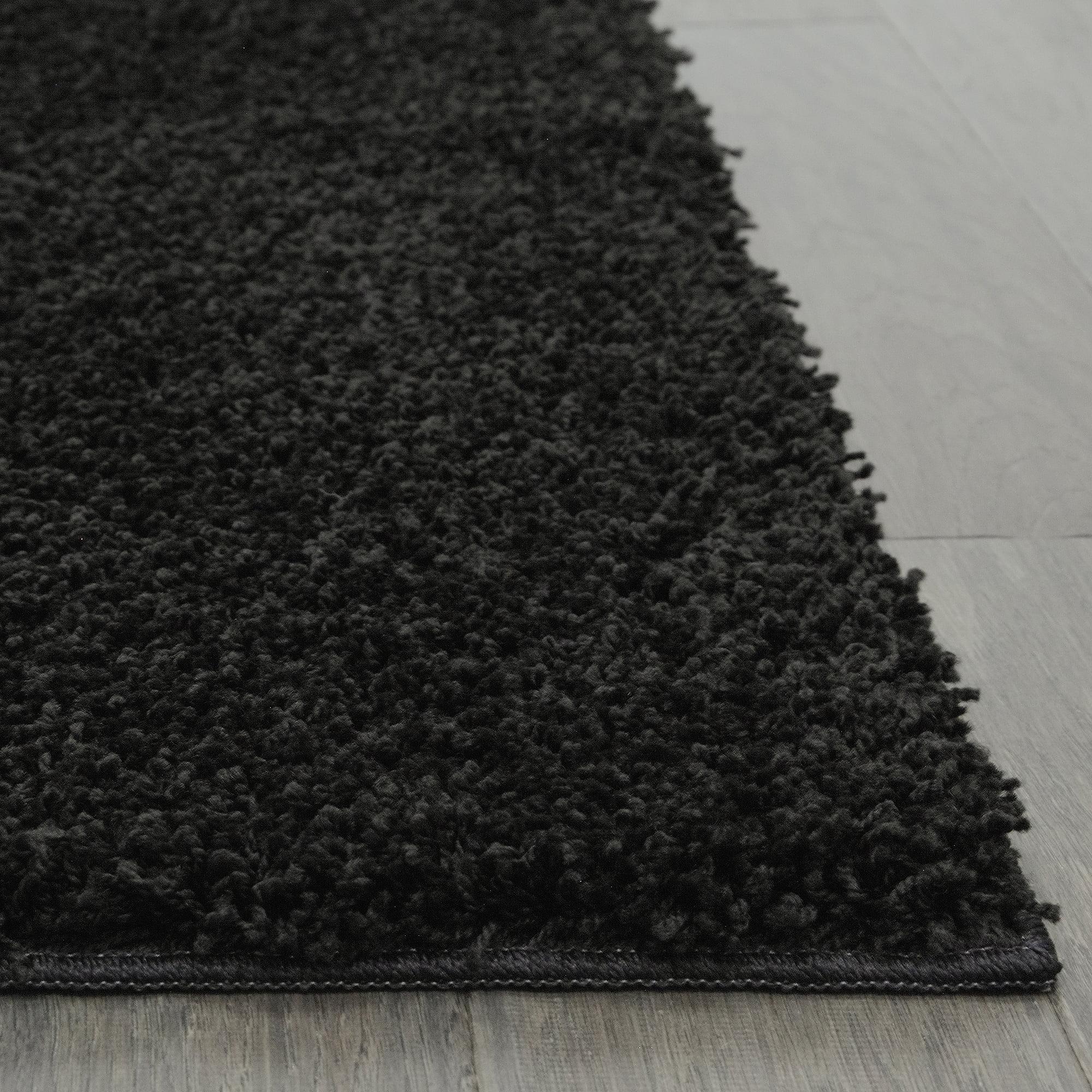 Decorative Area Rugs: Living Room '5x8' Area Rug Home Decorative Rich Black