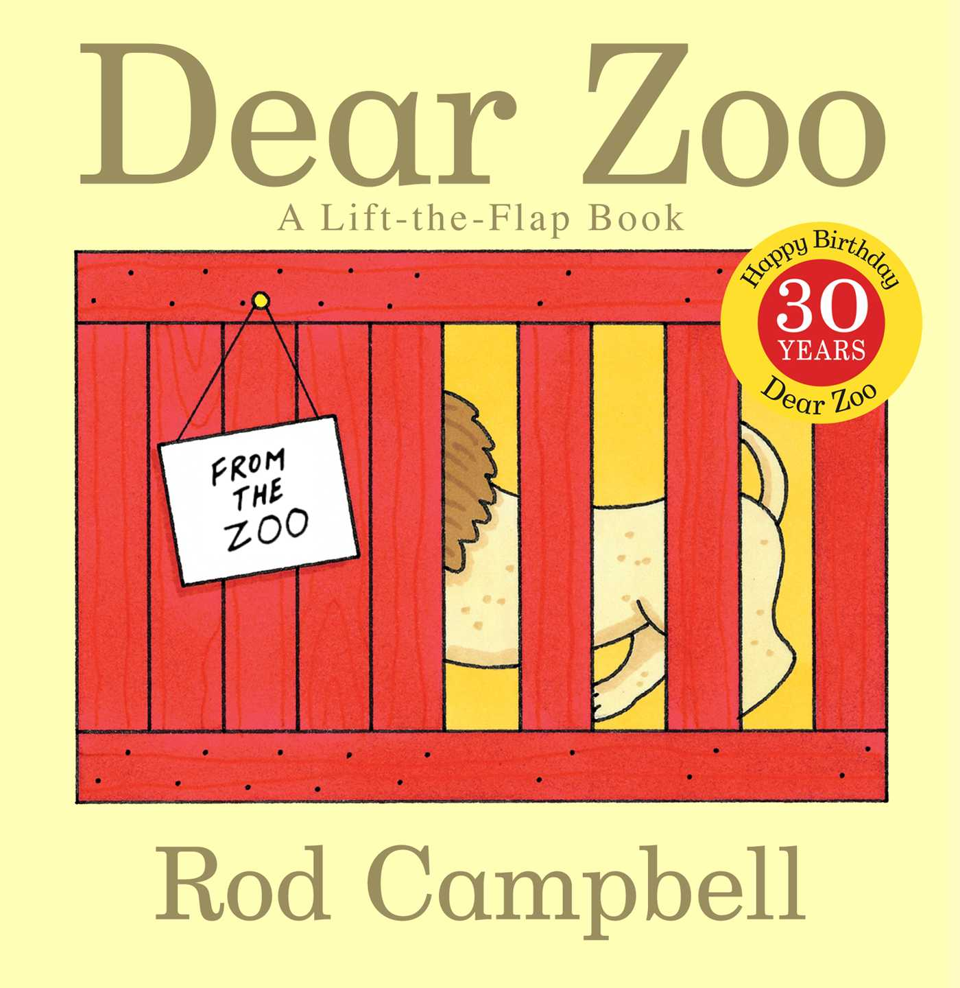 Dear Zoo A Lift the flap Book (Board Book)