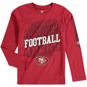 San Francisco 49ers Youth Frequency Long Sleeve T-Shirt - Scarlet