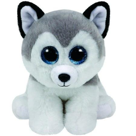 Buff Wolf Beanie Baby Medium - Stuffed Animal by Ty (90244)