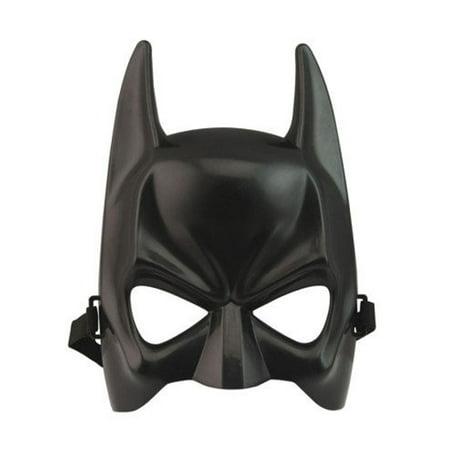 Origin Of The Halloween Mask (Adult Halloween Batman Masquerade Party Bat Eye Mask Hero Cosplay)