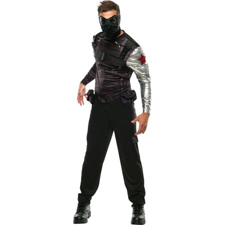 Captain America 2 Winter Soldier Adult Halloween Costume - Captain America Winter Soldier Costume For Sale