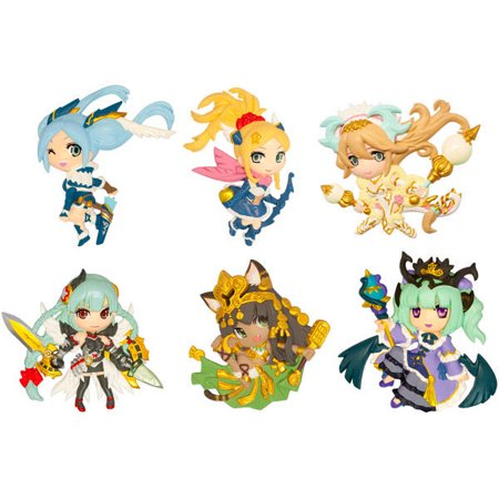 Puzzle & Dragons Relief Tradgin Magnets (1 Random Blind Box)