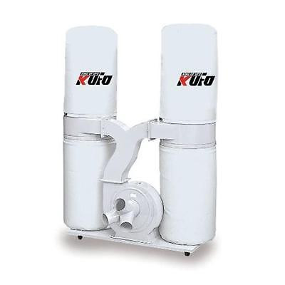 New Kufo Seco 5HP 3,900 CFM 3 Phase 220V-440V Vertical Bag Dust Collector Sweep Mop Broom Istilo109136 by GSS