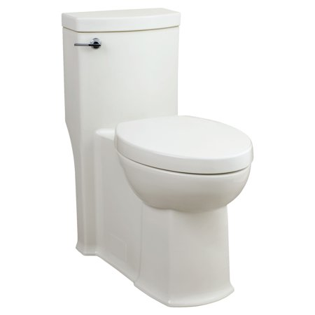 Phenomenal American Standard Boulevard Flowise 1 28 Gpf 1 Piece Single Flush Elongated Toilet With Concealed Trap Way In White Creativecarmelina Interior Chair Design Creativecarmelinacom