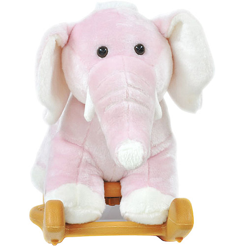Radio Road Toys Animal Rocker, Pink Elephant