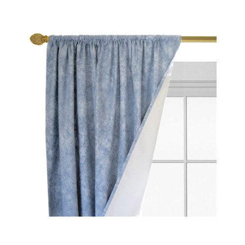 Roc-Lon Brush Single Curtain Panel