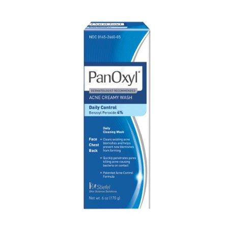 Panoxyl 4 Acne Creamy Wash, 6-Ounce - Walmart.com