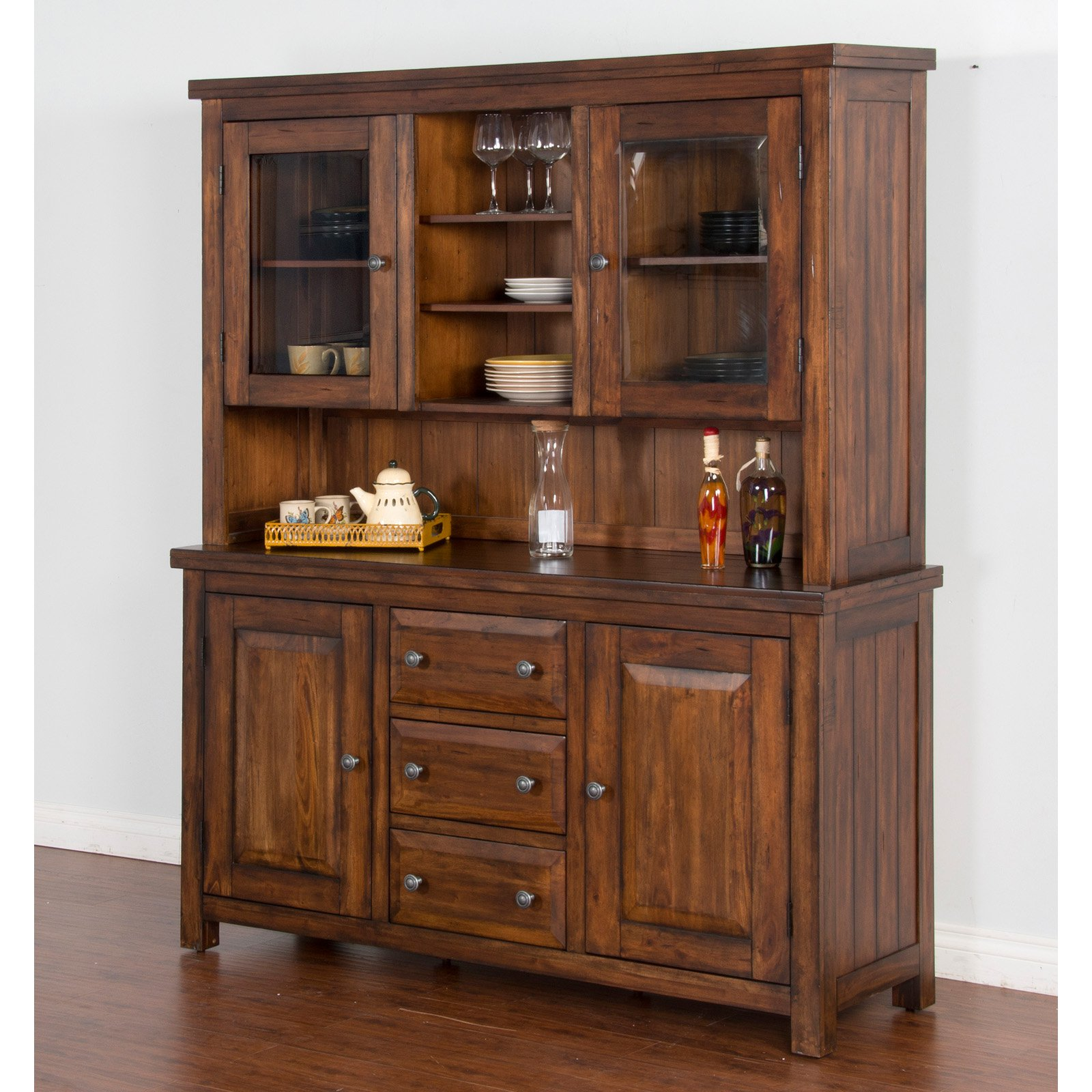 Sunny Designs Tuscany Buffet with Hutch