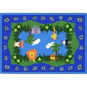 Joy Carpets & Co. 1804C Jungle Peeps