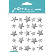 Jolee's Boutique Dimensional Stickers-Silver Star