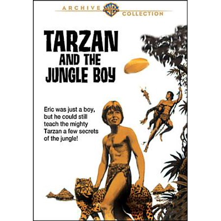 Tarzan And The Jungle Boy (DVD)