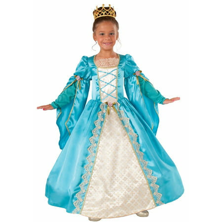 Renaissance Queen Costume for Girl's Child Renaissance Peasant Girl