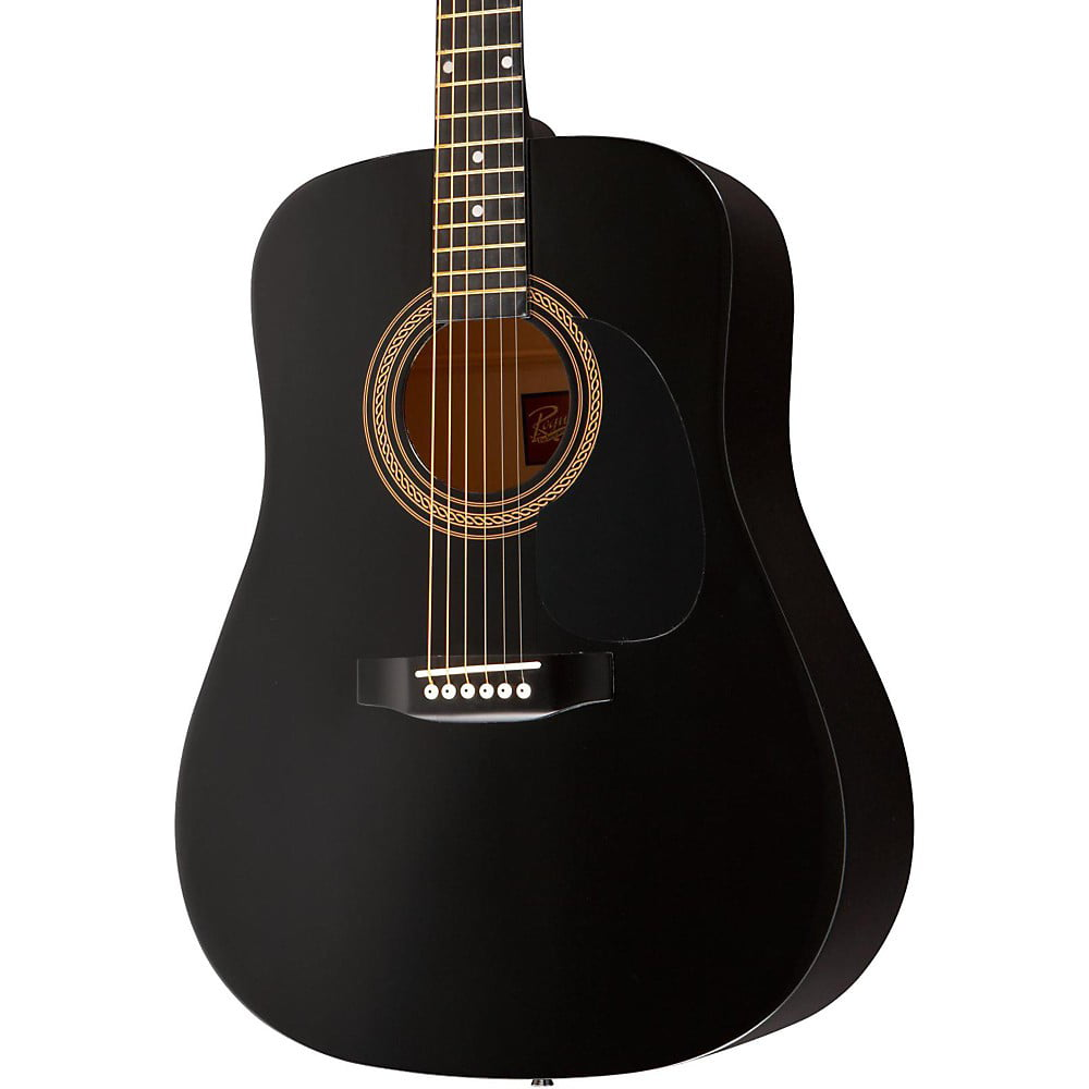 Rogue RA-090 Dreadnought Acoustic Guitar Black by Rogue