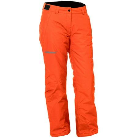 Castle X Bliss Womens Snowmobile Pants Orange (Womens Snowmobile Pants)