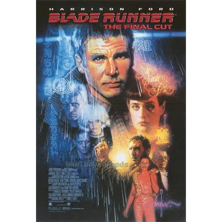 Blade Runner - The Final Cut (2008) 11x17 Movie