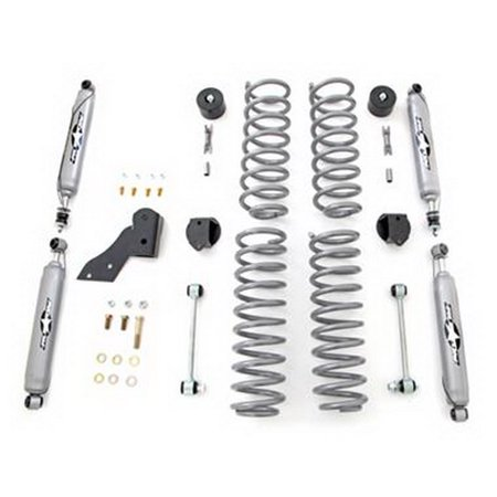 Rubicon Express R-ERE7121T 2.5 Inch Standard Coil Lift Kit with Twin Tube