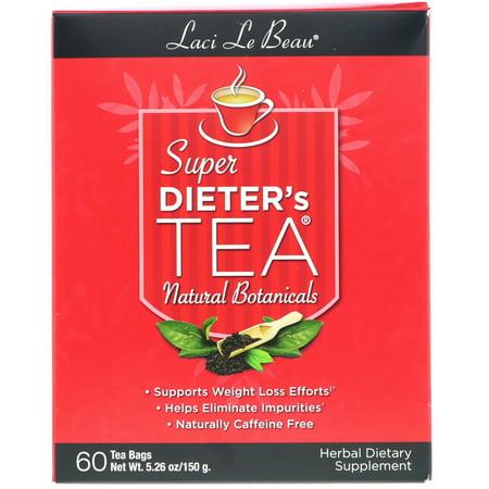Natrol Laci Le Beau  Super Dieter's Tea, 60 - Tea Super Slimming Tea
