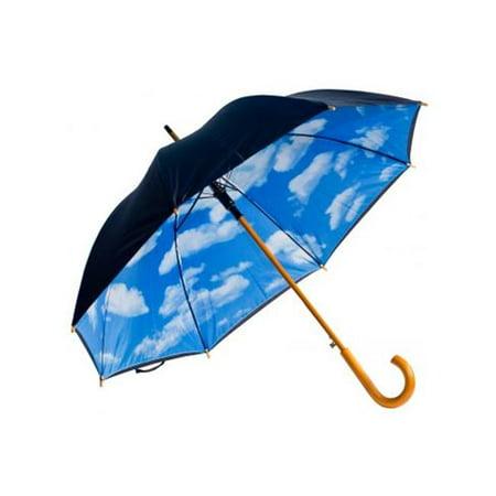 Auto-Open Perfect Day Print Umbrella