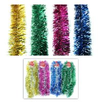New 310548  Hx Tree Garland 12Cm 3Ply 9Ft Assorted Color (36-Pack) Christmas Cheap Wholesale Discount Bulk Seasonal Christmas Boys