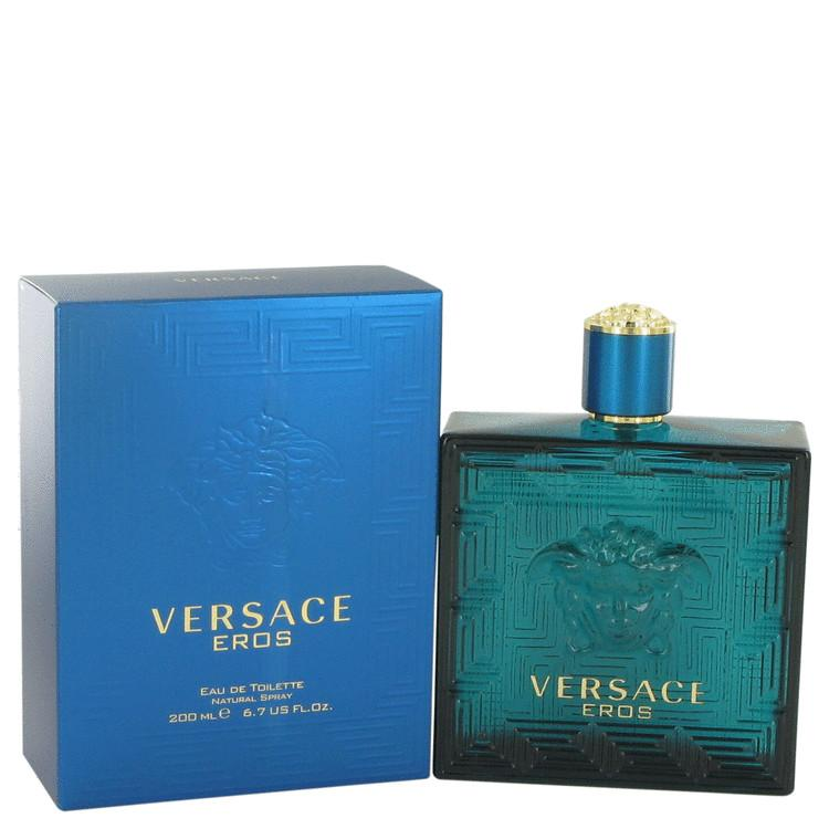 Versace Eros by Versace Eau De Toilette Spray 6.7 oz for Men