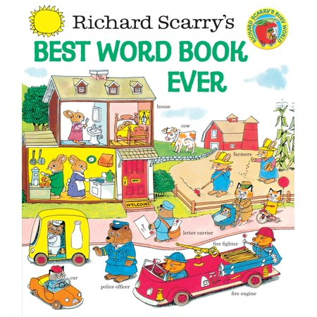 Richard Scarry's Best Word Book Ever (REV) (Best Book Of Colors)