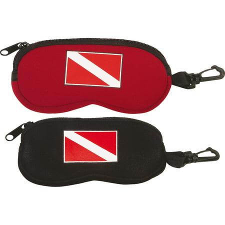 Neoprene Eyeglass Case Glasses Scuba Diving Flag Gear (Diving Gear)