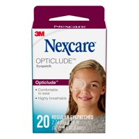Nexcare Opticlude Comfort Eye Patch, Nude, Breathable, 20 Count