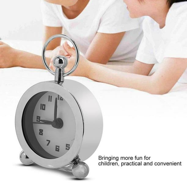 Greensen Wake Up Clock 5cm Silent Soft, Silent Wake Up Alarm