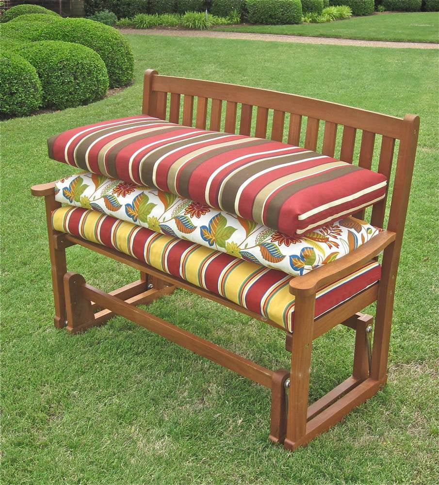 Outdoor bench recover patio furniture for D i y garden bench designs