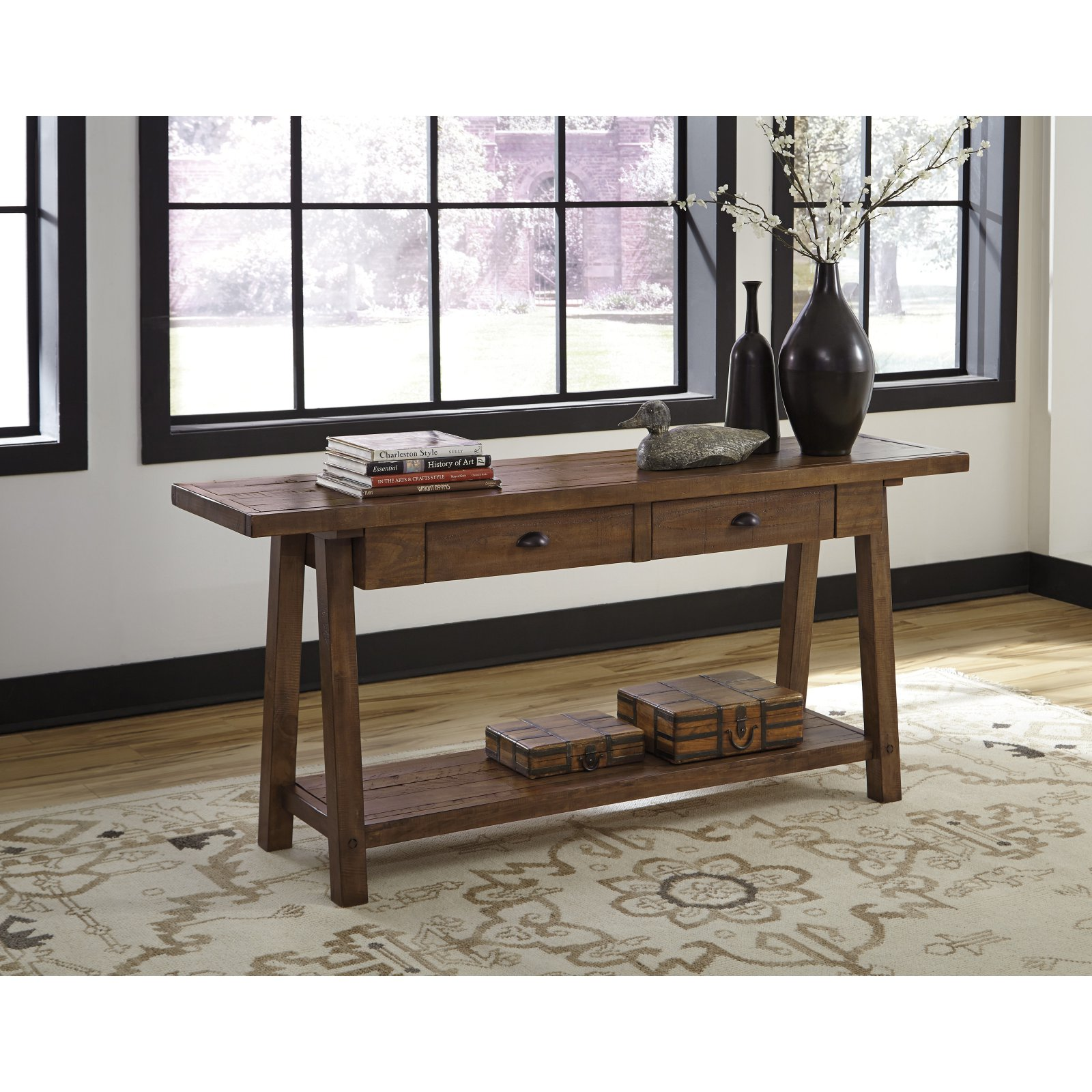 Signature Design by Ashley Dondie Sofa Table by Ashley Furniture
