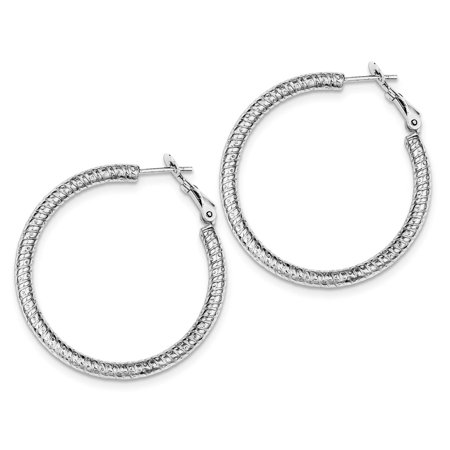 women steel earrings back hinged stainless product half screw pair men for huggie bead hoop