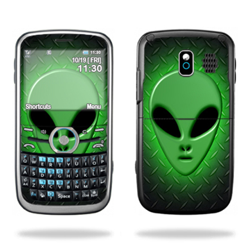 Mightyskins Protective Skin Decal Cover for Pantech Link P7040 Cell Phone wrap sticker skins Alien Invasion