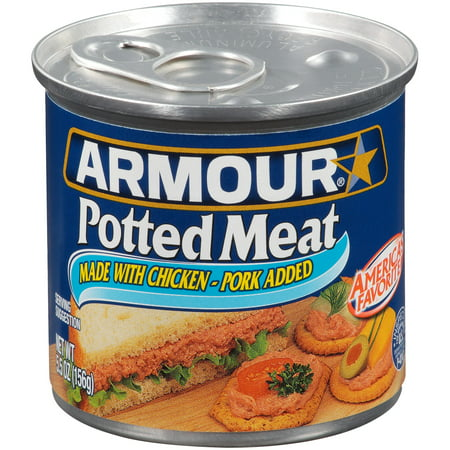 - (3 Pack) Armour Chicken & Pork Potted Meat, 5.5 oz Can