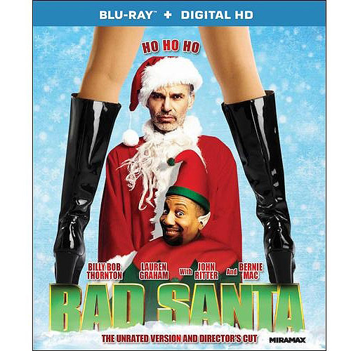 Bad Santa (Unrated / Director's Cut) (Blu-ray   Digital HD) (With INSTAWATCH) (Widescreen)