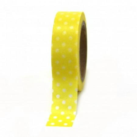 Washi Tape Wholesale (Dress My Cupcake Washi Decorative Tape for Gifts/Favors, Polka Dot,)