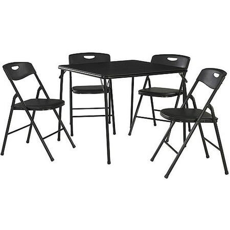 Cosco 5 Piece Folding Table And Chair Set Multiple Colors Best Folding Tables Amp Chairs