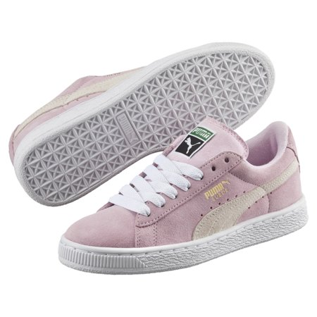 Puma Suede PS Little Kids Shoes Pink Lady/White/ P.T Gold  360757-30 ()