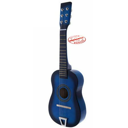 Star Kids Acoustic Toy Guitar 23 Inches Blue Color