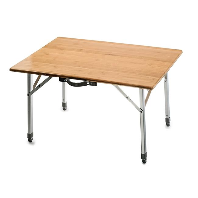 Bamboo Folding Table with Aluminum Legs - image 1 of 1