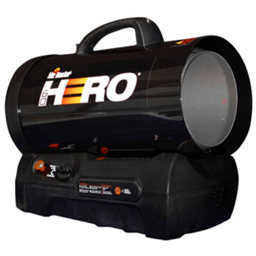 Mr. Heater MH60CLP Hero Forced Air Cordless Propane Heater, 30000-60000 BTU by Mr. Heater